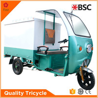 35-40 km/h Van cargo tricycle with a cabin