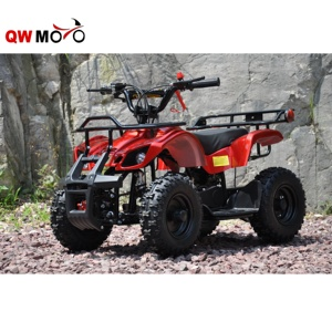 QWMOTO CE 2 İnme 50cc Mini Moto Quad Bike 49cc mini avcı Quad 49cc Cep ATV