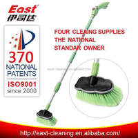 eco-friendly plastic handle plastic car wash brushes