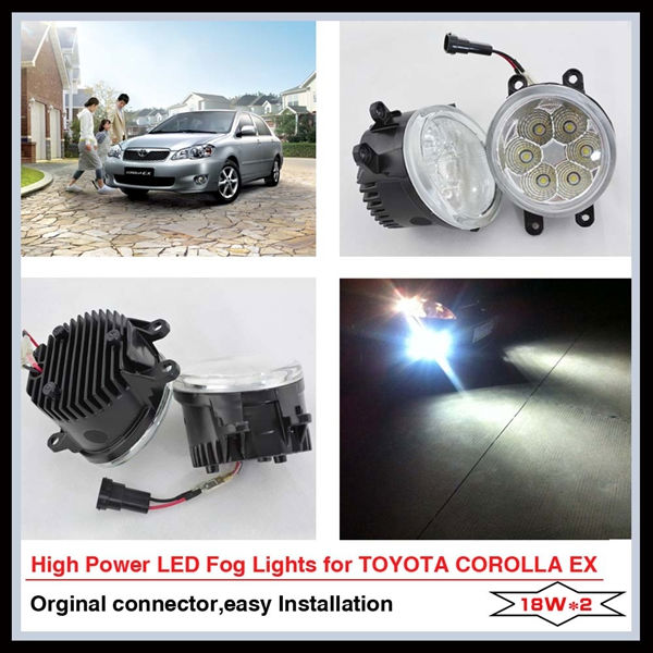 Top quality LED fog lamp For TOYOTA COROLLA EX