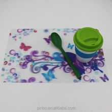 Customized Logo Printed Plastic PP Placemat for Kitchen