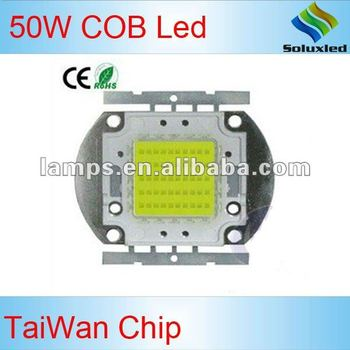 50W COB LED 45Mil 5 parallel and 10 serial 1500ma