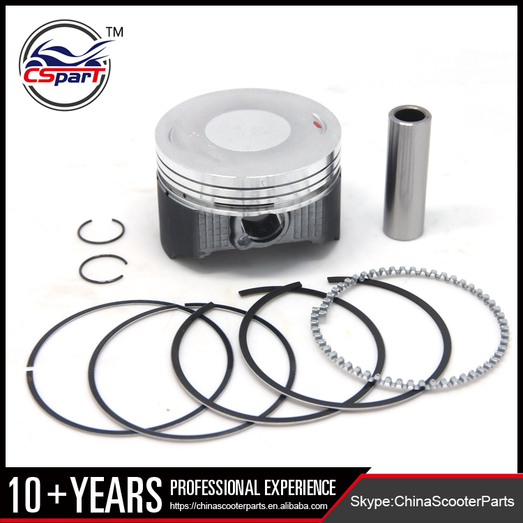 Racing Molybdenum 65.5MM 15MM Piston Ring Kit for CB250 CB200 200CC 250CC 165FMM ZongShen Loncin Dirt Pit Bikes Motorcycle Parts