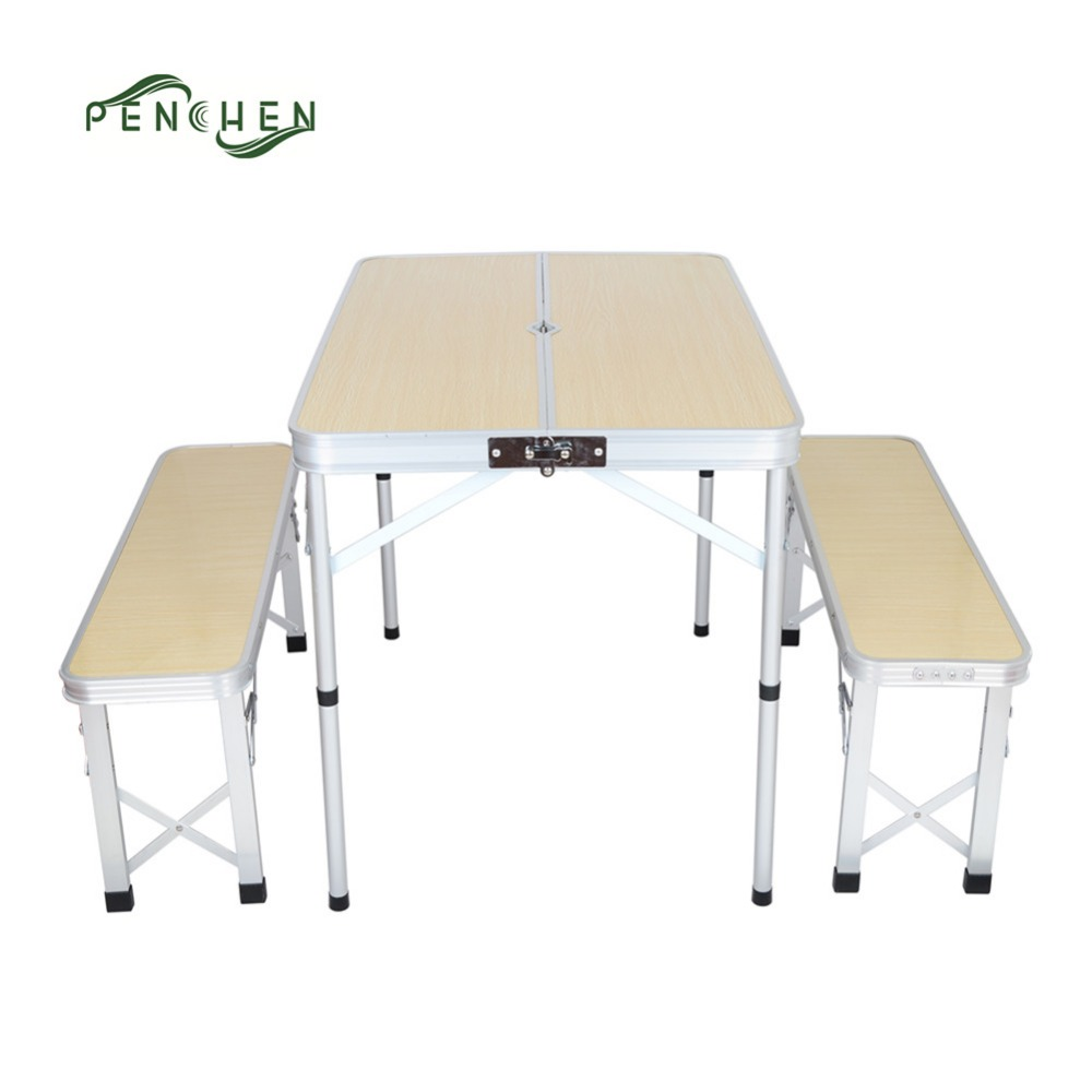 Outdoor Camping Folding Picnic Table And Bench