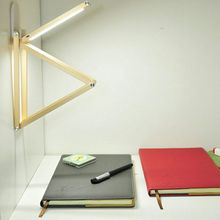 Modern mini DIY folding led lamp, with head free rotation, hanging on wall, outdoor lighting, reading