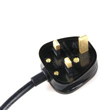 2 Prong Printer Power Cord UK fused plug to C7
