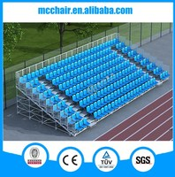 MC-TG04 Aneasy demountable &scaffold design sporting stadium stand indoor bleacher seating chair