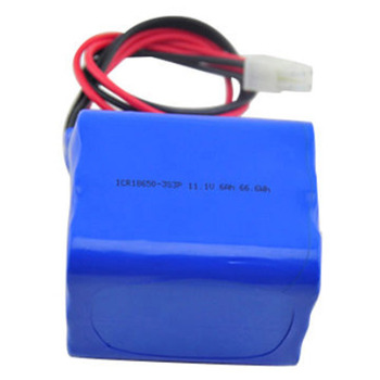 custom design li-ion 18650 battery pack 3P3S 11.1V 12V 6ah 7ah 8ah 9ah 10ah lithium ion battery