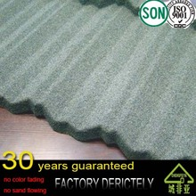 quality selling nigeria best selling lightweight roof tile with natural sand stone