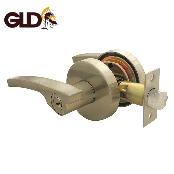 Top quality tubular zamak zinc alloy lever handle door lock