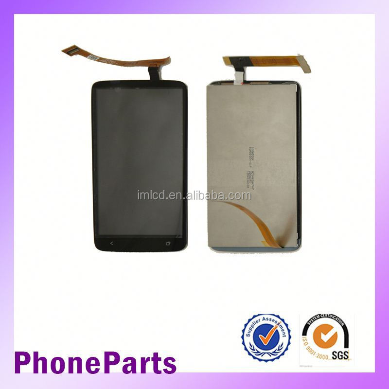 mobile phone spare parts for htc one x lcd touch screen replacement