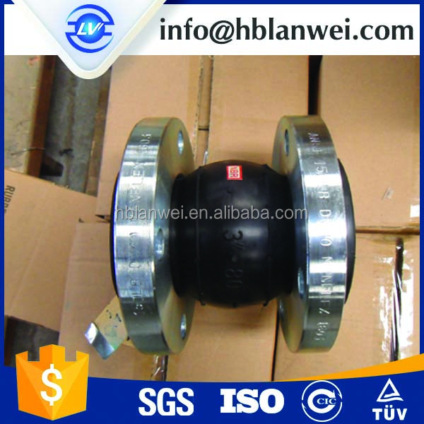 DN200 PN10 EPDM Reinforced Rubber Bellows Expansion Joint