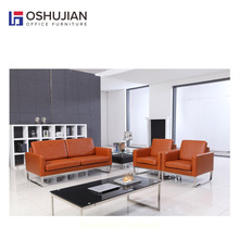Durable leather 3 seater sofa