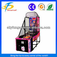 Luxury basketball indoor basketball shooting game machine