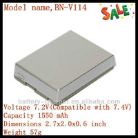 7.2V 1500mAh BN-V114 For JVC Camera GR-DVP1 GR-DVP3 ST Promotional Digital Video Battery