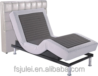 comfortable and durable massage function adjustable electric bed frame JL-AD02