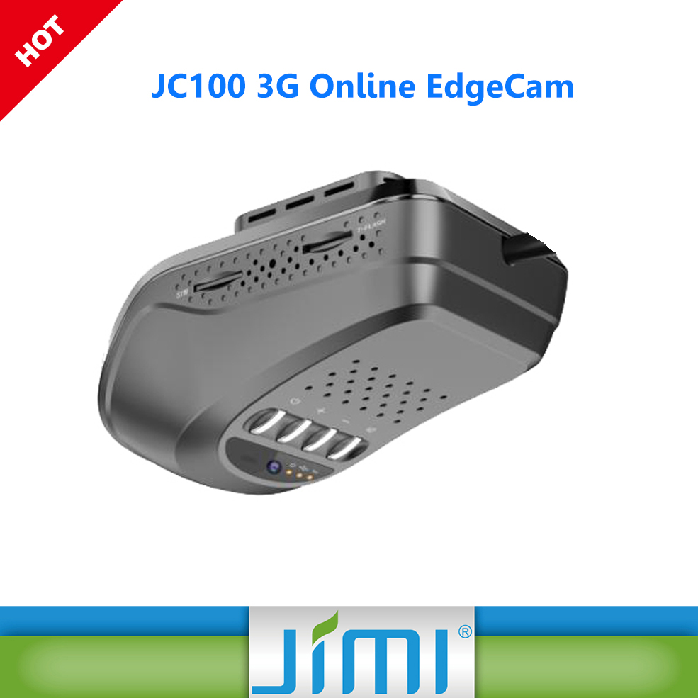 Jimi Concox JC100 EdgeCam Car 3G Online 1080P DVR GPS Tracker Live View Car Camera car multi camera dvr