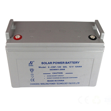 Wanlong Power sealed long life high quality 12V 120ah solar battery deep cycle maintenance free gel lead acid battery