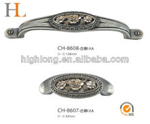 Antique silver Galvanized Handle for Wholesale in wenzhou