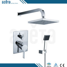 2017 Hot Sale Rainfall Muslim Bathroom Concealed Rain Bath Shower Set