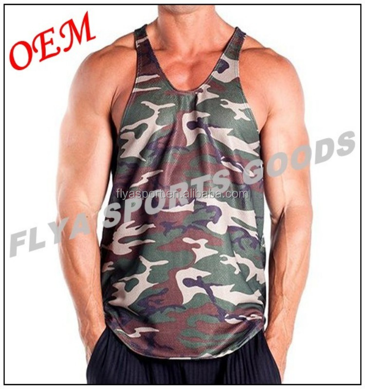 2018 Popular High quality custom mens blank running singlets