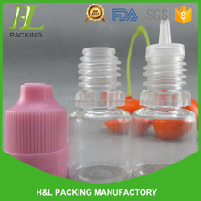 5ml 15ml 20ml 30ml plastic dropper bottles transparent clear pet bottles with tamper ring cap smoke oil use