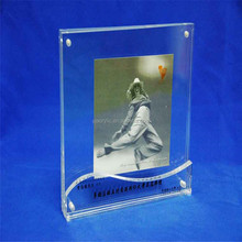 Custom clear Acrylic photo frames rectangle magnetic transparent Acrylic photo picture frames