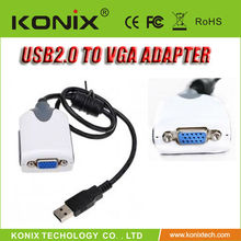 electronic USB 2.0 DVI HDMI VGA adapter converter connect LCD monitor