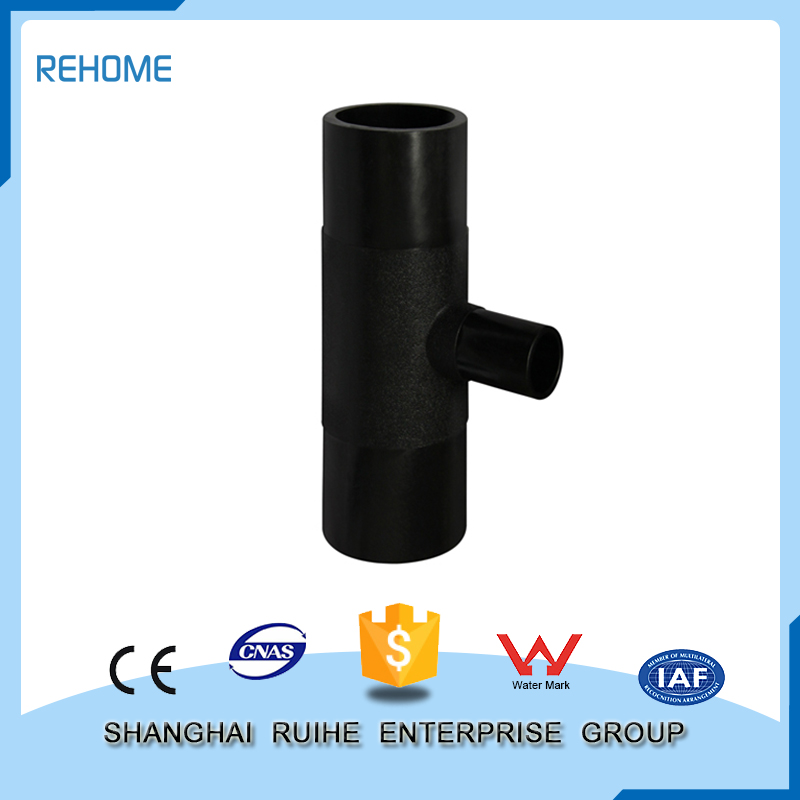 Energy-saving long 45 degree pipe fitting lateral tee
