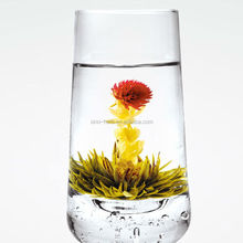 Free Sample 100% Hand-made Artistic Organic Chinese Blooming Tea Shiningherb Flowering Tea