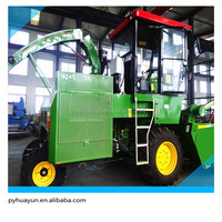 silage harvester for corn napier grass silage cutter machine with CE