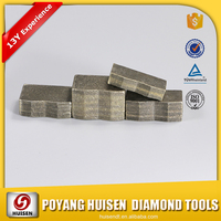 Bulk Supplier Diamond black cutting stone segment