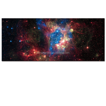 Wholesale Stretched Large Magellanic Cloud LMC Photo Canvas Prints Starry Sky Canvas Printed Artwork Home Wall Decoration