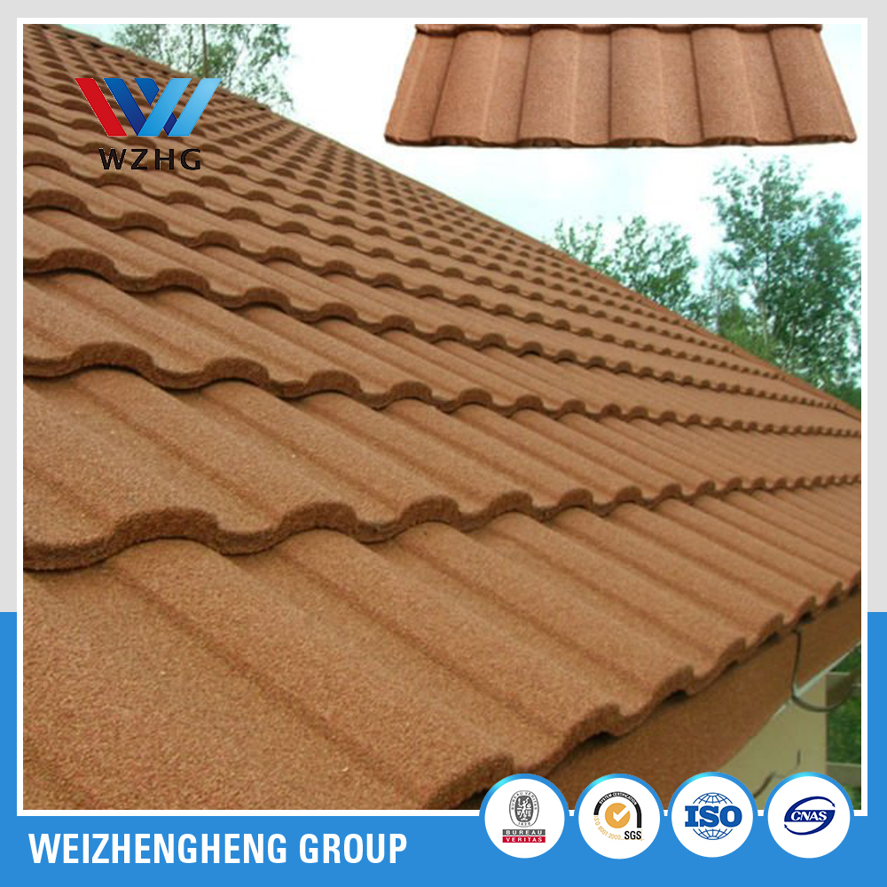 Colorful Stone Coated Steel Roofing Tiles/roof tile panels /Metal and Steel Tile Roofing