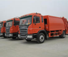 JAC 12m3 Refuse collector garbage truck