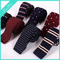 Custom & Wholesale Fashion Knitted Necktie Wool Tie