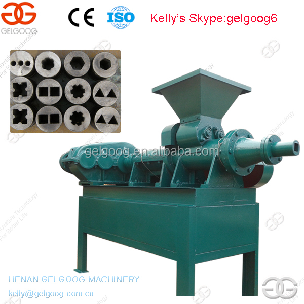 Charcoal Coal Powder Ball Briquette Stick Making Machine Price on Sale