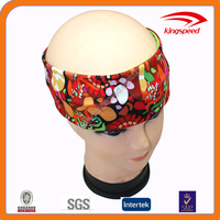 Olympic samba pattern polyester Lycra cool head band