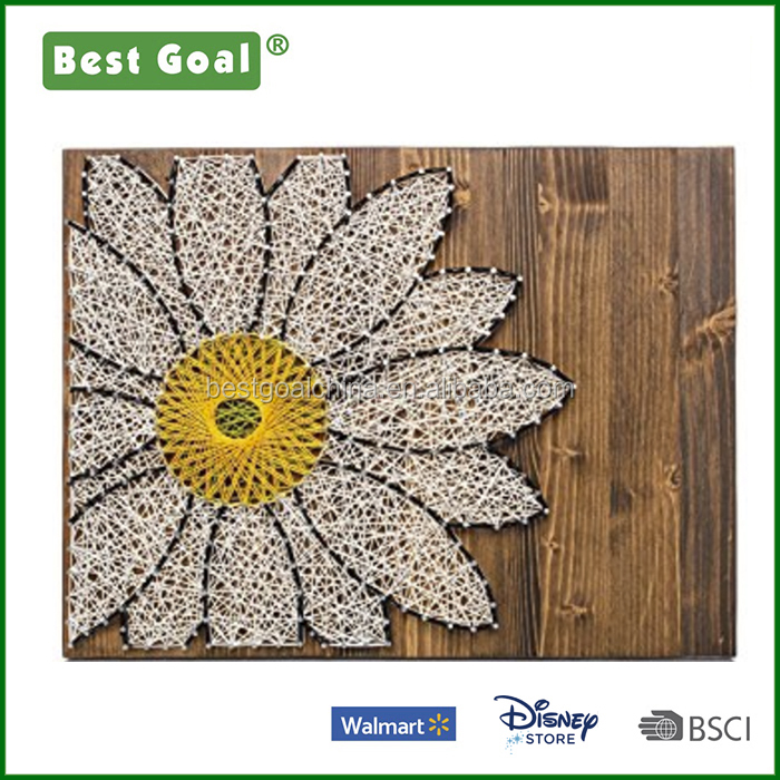 Daisy Lover Gift Wooden DIY Crafts Kits with supplies and wood