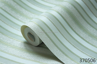 glossy pvc striped pattern 3d wallpaper for sale