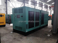 Industrial diesel genset 600kva with super silent box