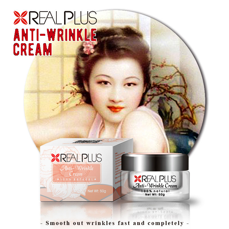 Real Plus instant anti wrinkle cream hot selling in uk market