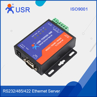 USR Serial Device Server LAN to RS232 TCP/IP to RS485 RS422 Ethernet Converter
