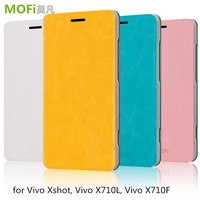 MOFi RUI Series Simple Design Flip PU Leather Cell Phone Case Cover for Vivo Xshot, Vivo X710L, Vivo X710F