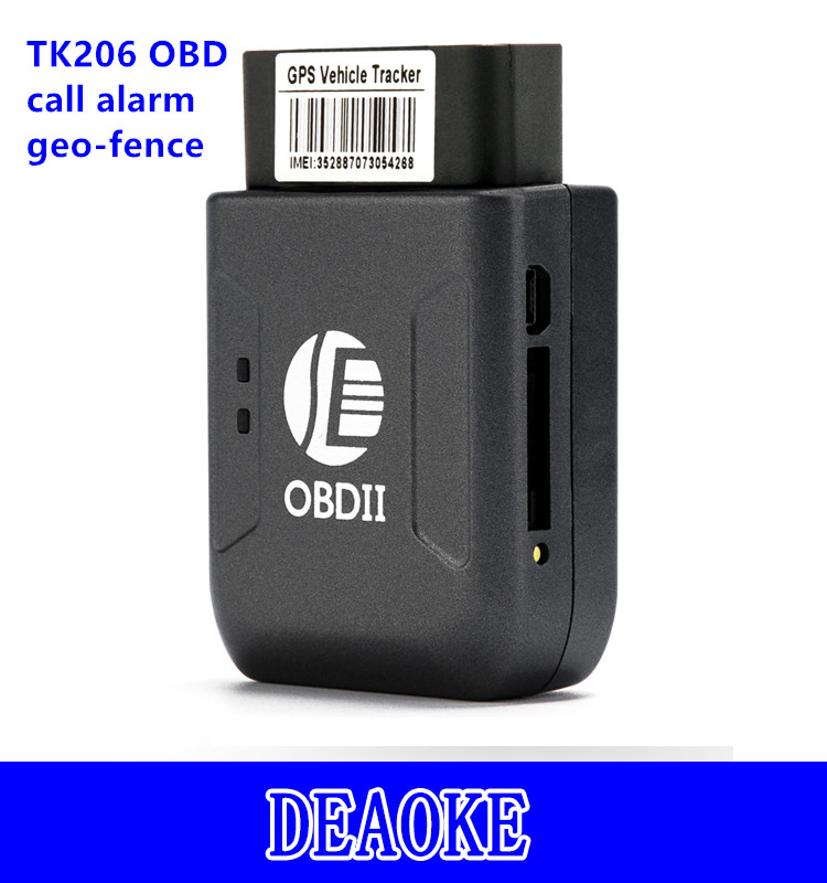 Anti-theft mini cheap programmable obd ii gps tracker for europe TK206