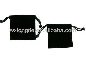 promotion industrial use and accept custom order velvet pouch