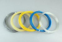 High quality round shape 12m/set polyester tennis strings for tennis racket