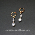 Fashion Jewelry TearDrop Earring Alloy Earring Zircon Earring