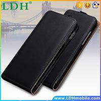 Nexus 5 Cases Black White Real Genuine Leather Flip Case For LG Google Nexus 5 D820 D821 Vertical Flip Protective Cover 1pcs/lot
