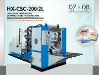 HX-CS-190/2L Facial tissue paper machinery - 2 lanes
